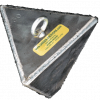 The 3 Sided Pyramid. This anchor will fit a Koffler anchor nest. Available in 30 pound, other weights by special order. The 3 Sided Pyramid. Raft Anchors Drift Boat Anchors